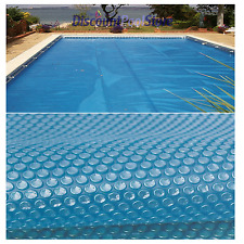 12ft x 24ft Blue 400 Micron Swimming Pool Solar Cover