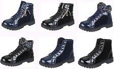 Markenlose Damenstiefel & -Stiefeletten im Boots-Stil aus Kunstleder für Mittlerer Absatz (3-5 cm)