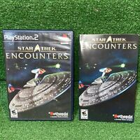Star Trek: Encounters (Sony PlayStation 2, 2006) - Complete