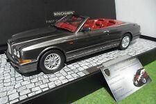 BENTLEY AZURE cabriolet 1998 gris au 1/18 Minichamps 107139930 voiture miniature