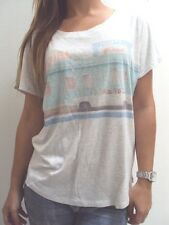 NEW RIP CURL SURF WOMEN CRUISE SCOOP NECK  TEE T SHIRT TOP CAMI M MEDIUM 11-83