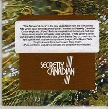 (CN178) Nite Jewel, One Second of Love - 2012 DJ CD