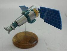 DK-1 Resurs Satellite Spacecraft Mahogany Kiln Dry Wood Model Small New