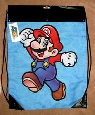 Official Licensed NINTENDO Super Mario Brothers Cinch Back Pack Sac