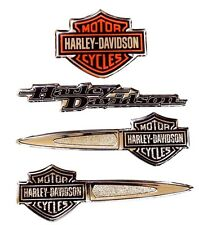 Genuine Harley Davidson Tank style Bar & Shield Dome Decals / Set DC16506 Small
