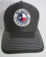 Be Hippy Hat Cap Trucker It's a Lifestyle Snapback USA Embroidery New