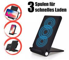 Qi Fast Induktive Schnell Ladestation Ladegerät Smartphone Handy Kabellos