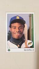 1989 Upper Deck Ken Griffey Jr. RC Rookie Baseball Card #1