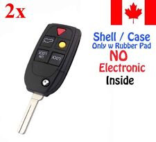 2x New Replacement Keyless Remote Key Fob Case For Volvo LQNP2T-APU - Shell Only