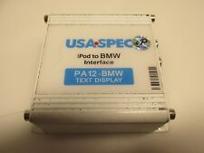 USA SPEC PA12-BMW Text Display iPod iPhone Stereo Interface Module