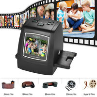 135/126/110/8mm 14MP/22MP Film Converter Slide Negative Photo Scanner CMOS E0I3