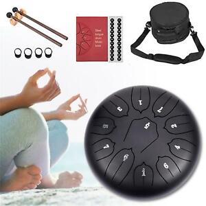 10 Zoll 11 Töne Drum Handpan Hand Pan tankdrum Zungen Trommel Yoga mit Tasche