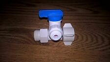 Twistloc Supply Water Valve(1/2'' Mt x 1/2'' Fmt x 1/4'' Od)Lead-free Ball Valve