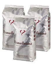 Kaffeebohnen Espresso 3 x 1000 g Primo Aroma Emozioni Extra Bar Qualitätskaffee
