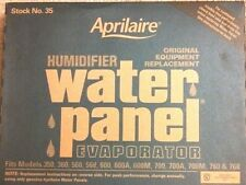 2 PACK Aprilaire #35 Humidifier Water Panel fits model #'s 350, 360, 560, 568