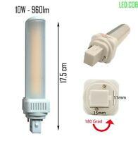 LED G24d PL C pin2 Leuchtmittel PL-C 3000K/4000K 10W Universal G24d 2pin
