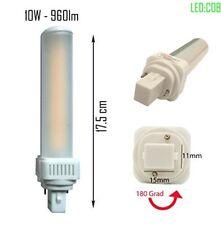 LED G24d PL C pin2 Leuchtmittel PL-C 4000K 10W Universal G24d 2pin