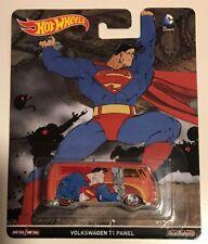Hot Wheels Pop Culture BATMAN SUPERMAN VOLKSWAGEN T1 PANEL *  Fast Ship* 13B