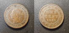 Canada - Victoria - 1 cent 1882H, Heaton - KM#7