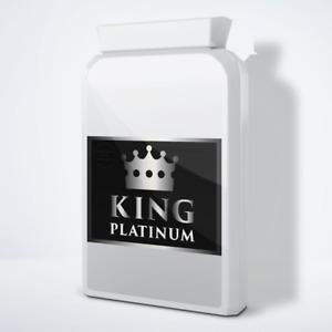 KING PLATINUM - MALE ENHANCEMENT PENIS ENLARGEMENT PILLS - 90 PILLS