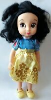 DISNEY STORE ANIMATOR DOLL BABY TODDLER SNOW WHITE PIG TAILS GLITTER DRESS SHOES