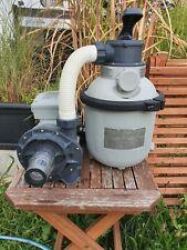 INTEX Sandfilteranlage SF90220RC 4000/h 190W für Pool bis 18.000 Liter