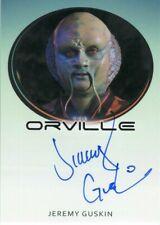 ORVILLE 2019 Season 1 JEREMY GUSKIN Autograph Card!!! Furry Alien