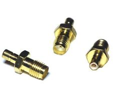 SMA Female Jack To SMB Male Plug Straight RF Adapter Connector - UK seller