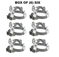 Box of (6) SIX Jackson® 391 Head Hugger 4 Point Ratchet Suspension for HELMETS