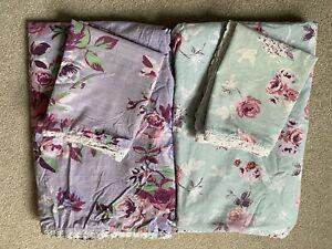 Girls Single Bedding - Next - Pillowcase & Duvet Cover x2