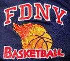 FDNY NYC Fire Department New York City T- shirt Sz L Bravest Basketball Team