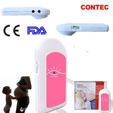 CE Pocket Fetal Doppler Prenatal Baby Heart Rate Detector Household Beat Monitor