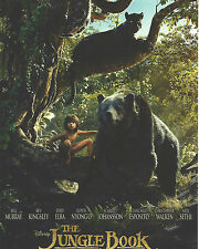 The Jungle Book double Signed 10x8 Photo AFTAL OnlineCOA