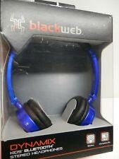 BLACKWEB *BWA15AA001*VOLUME LIMITING KID SAFE*STEREO BLUETOOTH HEADPHONES