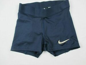 Nike Compression Shorts Women's Navy Poly Used Multiple Sizes