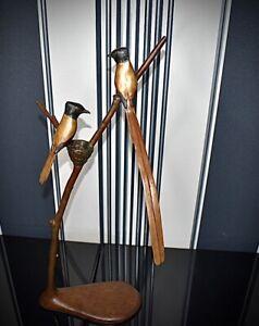 Stunning LTD Edition Bronze Sculpture, Paradise Flycatcher by Dave Tomlinson,