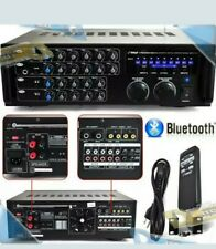 NEW Pyle 1000-Watt BT+ Stereo Audio/Video Mixer Karaoke Amplifier w/Remote