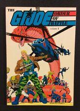 GI JOE ORDER OF BATTLE Comic Book Trade Paperback Volume 1 Marvel 1987 VF+