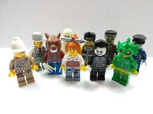 LEGO Monster Fighters Minifigures Select Your Character - Monster, Werewolf,