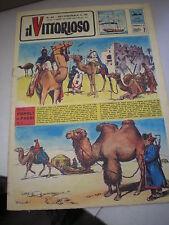 IL VITTORIOSO Anno XXVI n. 49 1962, JACOVITTI, figurine, ciclismo, MANCA INSERTO