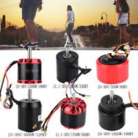 Max 4600W Metal Brushless Sensorless Motor For Electric Skateboard Scooter Kit.