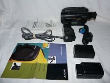 Sony Handycam CCD-TR100 8mm Video8 HI8 Camcorder Player Stereo Video Transfer