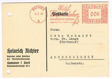 1940 AFS Bremen Hotel Schaper Siedenburg