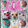 CONFETTI LOL SURPRISED DOLL CAKE TOPPER PARTY SUPPLIES BALLOON CUPCAKE BALLOONS