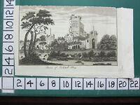 C1790 Antico Yorkshire Stampa ~ Rovine Di Kirkstall Abbey