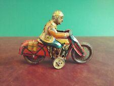 Rare Original 1930's Variant RICO Tin Penny Toy Motorcycle