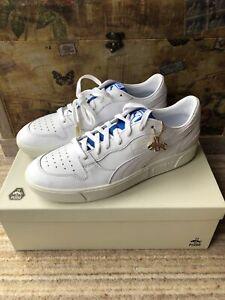 Puma Sky LX Low Rudolph Dassler Legacy White Trainers, Size UK11 Brand New