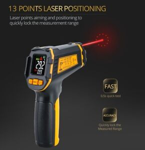 Nifty, Infrared Thermometer, Smart Sensor, ST490+ by GDVA -50, 490 degrees