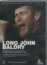 LONG JOHN BALDRY - RECORDED LIVE IN CONCERT AT IOWA STATE UNI 1987 - DVD