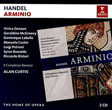 Alan Curtis-Handel: Arminio  (UK IMPORT)  CD NEW